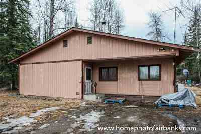 NORTH POLE Single Family Home For Sale: 3463 Plack Road