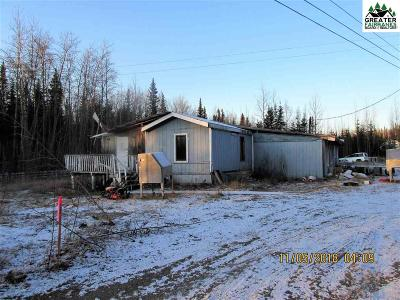 Nenana Single Family Home For Sale: 310 Parks Highway