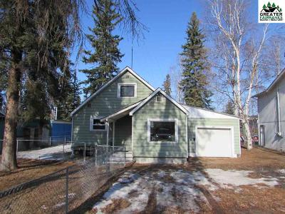 Fairbanks, North Pole Single Family Home For Sale: 420 Glacier Street