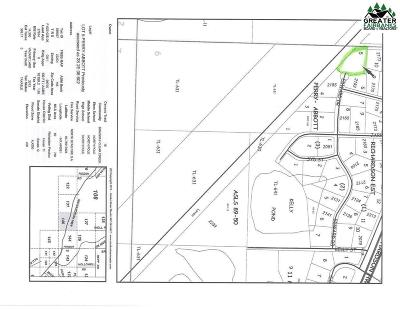 North Pole Commercial Lots & Land For Sale: 2200 Edward Drive