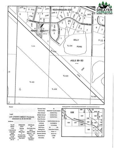North Pole Commercial Lots & Land For Sale: 2175 Edward Drive