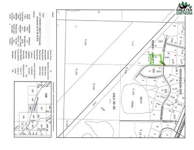 North Pole Commercial Lots & Land For Sale: 2165 Edward Drive