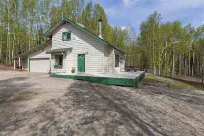 Chena Hot Springs, Clear Creek, Ester, Fairbanks, Fox, Hayes Creek, North Pole, Salcha, Two Rivers Single Family Home For Sale: 678 Love Road