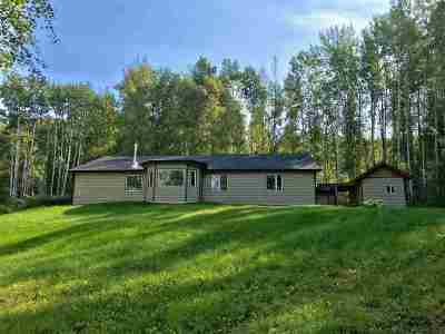 Chena Hot Springs, Clear Creek, Ester, Fairbanks, Fox, Hayes Creek, North Pole, Salcha, Two Rivers Single Family Home For Sale: 918 Kokomo Street