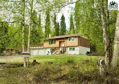 Chena Hot Springs, Clear Creek, Ester, Fairbanks, Fox, Hayes Creek, North Pole, Salcha, Two Rivers Single Family Home For Sale: 3301 Helen Place