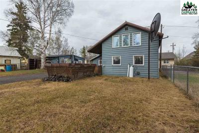 Chena Hot Springs, Clear Creek, Ester, Fairbanks, Fox, Hayes Creek, North Pole, Salcha, Two Rivers Single Family Home For Sale: 311 Brandt Street