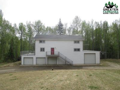 Chena Hot Springs, Clear Creek, Ester, Fairbanks, Fox, Hayes Creek, North Pole, Salcha, Two Rivers Single Family Home For Sale: 1245 Raspberry Drive
