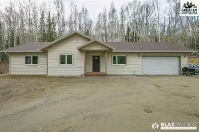 Chena Hot Springs, Clear Creek, Ester, Fairbanks, Fox, Hayes Creek, North Pole, Salcha, Two Rivers Single Family Home For Sale: 3540 Moose Mountain Road