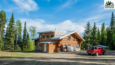 Fairbanks Single Family Home For Sale: 9525 Parks Highway