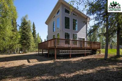 Chena Hot Springs, Clear Creek, Ester, Fairbanks, Fox, Hayes Creek, North Pole, Salcha, Two Rivers Single Family Home For Sale: 1307 Shypoke Drive