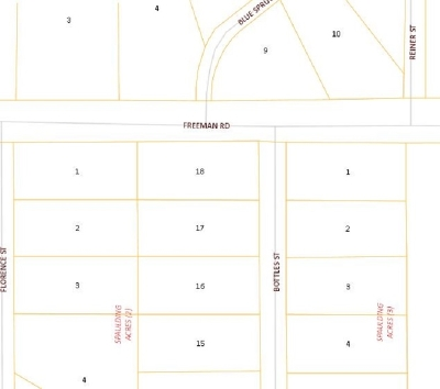 North Pole Residential Lots & Land For Sale: Nhn Bottles Street