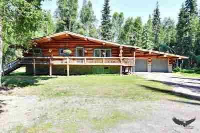 Fairbanks Single Family Home For Sale: 829 Cloud Road
