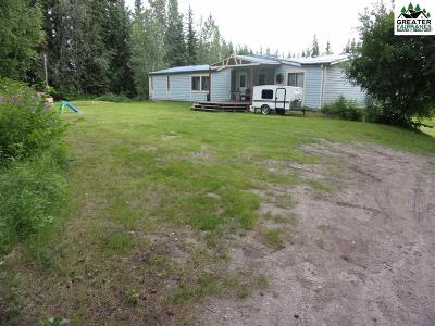 North Pole Single Family Home For Sale: 3201 Wyatt Road