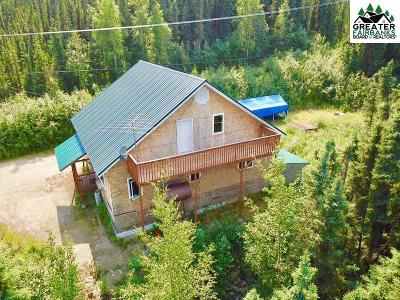 Fairbanks Single Family Home For Sale: 3785 Gold Lode Road