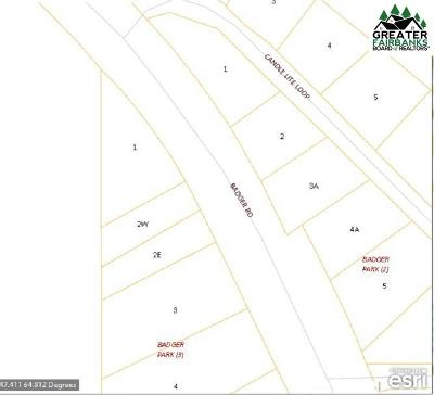 North Pole Residential Lots & Land For Sale: Nhn Badger Road