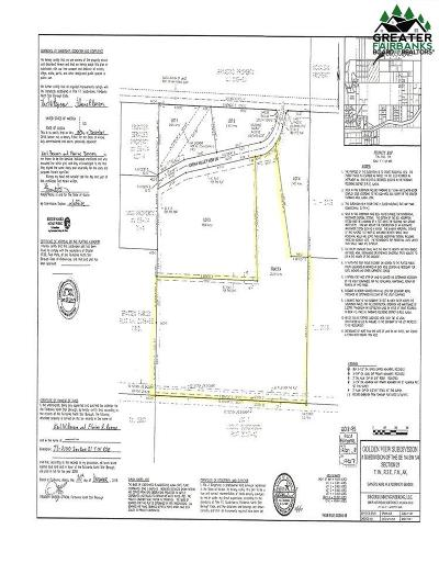 Fairbanks Residential Lots & Land For Sale: Tract A Chena Valley View Lane