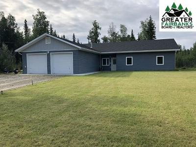 North Pole Single Family Home For Sale: 3847 Tractor Drive