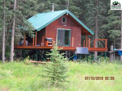Salcha AK Single Family Home For Sale: $99,000