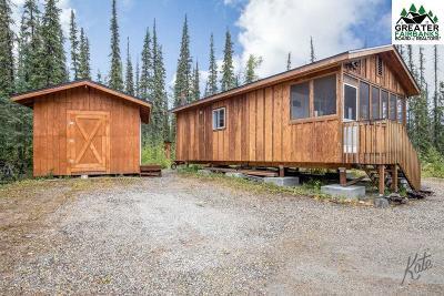 Fairbanks Single Family Home For Sale: 650 McGrath Road