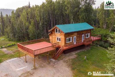 Fairbanks Single Family Home For Sale: 3764 Chena Hot Springs Road