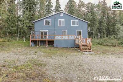 Fairbanks Single Family Home For Sale: 3405 Rosie Creek Road