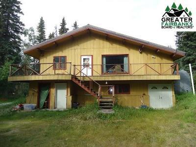 Fairbanks AK Single Family Home For Sale: $100,900