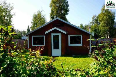 Fairbanks AK Single Family Home For Sale: $45,000