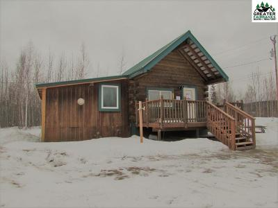 Chena Hot Springs, Clear Creek, Ester, Fairbanks, Fox, Hayes Creek, North Pole, Salcha, Two Rivers Single Family Home For Sale: 2061 Beth Court