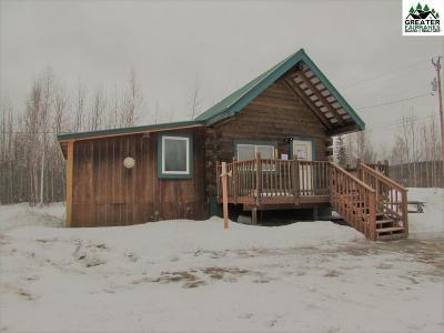 Fairbanks AK Single Family Home For Sale: $94,900