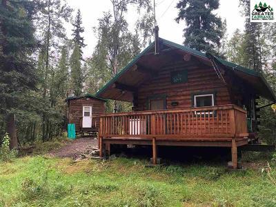 Chena Hot Springs, Clear Creek, Ester, Fairbanks, Fox, Hayes Creek, North Pole, Salcha, Two Rivers Single Family Home For Sale: 671 Hempel Street