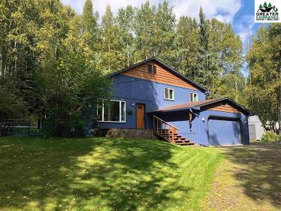 Chena Hot Springs, Clear Creek, Ester, Fairbanks, Fox, Hayes Creek, North Pole, Salcha, Two Rivers Single Family Home For Sale: 288 Hawk Road