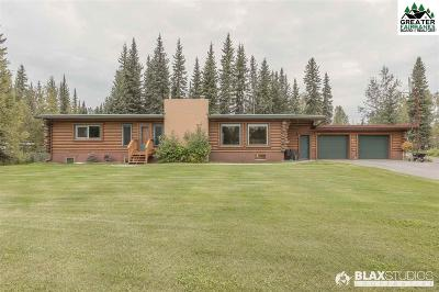 Chena Hot Springs, Clear Creek, Ester, Fairbanks, Fox, Hayes Creek, North Pole, Salcha, Two Rivers Single Family Home For Sale: 786 Landing Road