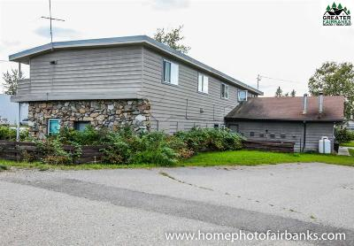Chena Hot Springs, Clear Creek, Ester, Fairbanks, Fox, Hayes Creek, North Pole, Salcha, Two Rivers Multi Family Home For Sale: 1660 Peger Road