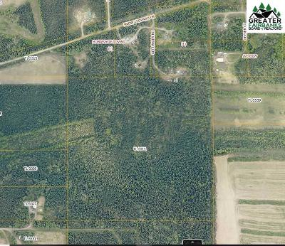 Fairbanks Residential Lots & Land For Sale: Nhn Gettinger Road