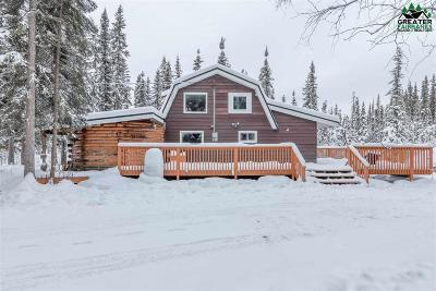 Fairbanks AK Single Family Home For Sale: $195,000