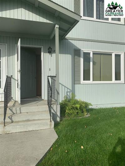 Fairbanks AK Condo/Townhouse For Sale: $125,000
