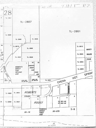 Fairbanks AK Residential Lots & Land For Sale: $30,000