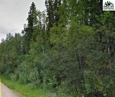 Fairbanks AK Residential Lots & Land For Sale: $20,000