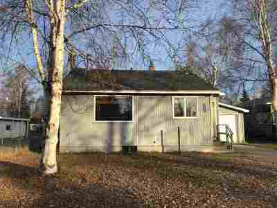 Fairbanks AK Single Family Home For Sale: $178,000