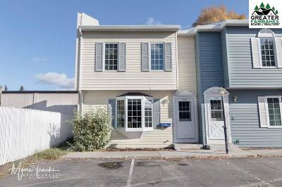 Fairbanks AK Condo/Townhouse For Sale: $104,900