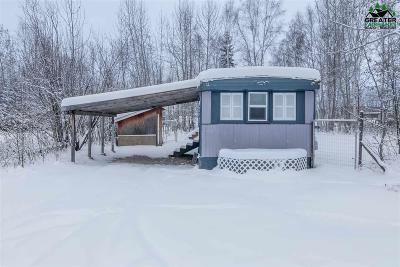 Fairbanks AK Single Family Home For Sale: $34,900