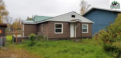 Fairbanks AK Single Family Home For Sale: $110,000