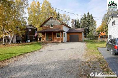 Fairbanks Single Family Home For Sale: 1166 Hayes Avenue
