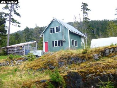 Juneau AK Single Family Home For Sale: $125,000