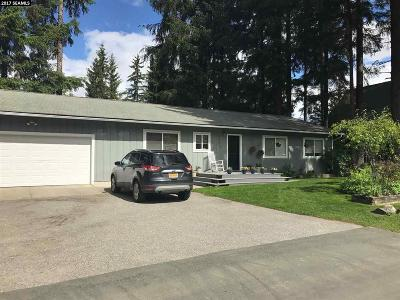 Juneau AK Single Family Home Take Back Ups: $333,900