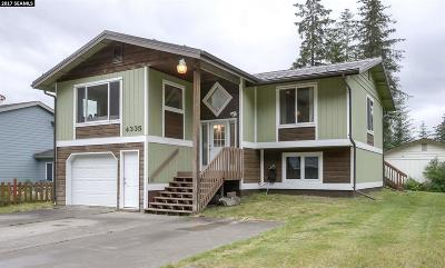 Juneau AK Single Family Home For Sale: $395,000
