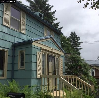 Juneau AK Single Family Home Back On Market: $369,000