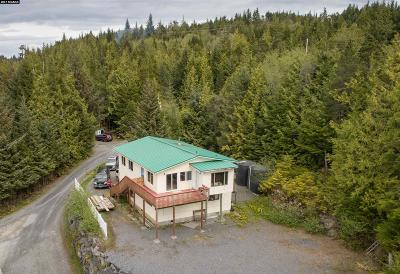 Ketchikan Gateway Borough Single Family Home For Sale: 233 Cranberry Road