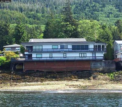 Ketchikan Gateway Borough Single Family Home For Sale: 5153 Shoreline Drive
