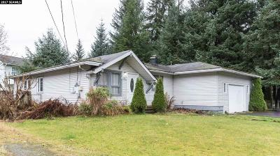 Juneau AK Single Family Home For Sale: $306,000